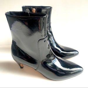 Nanette Lepore Kimmy Ankle Boots Kitten Heel 9